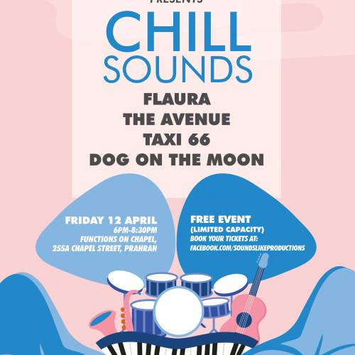 Chill Sounds Flyer